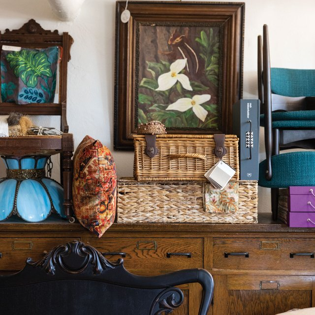 An array of furniture