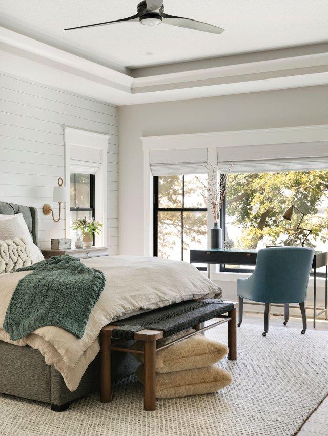 upscale bedroom