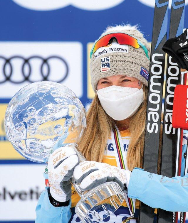 olympic gold medal–winning Nordic skier Jessie Diggins