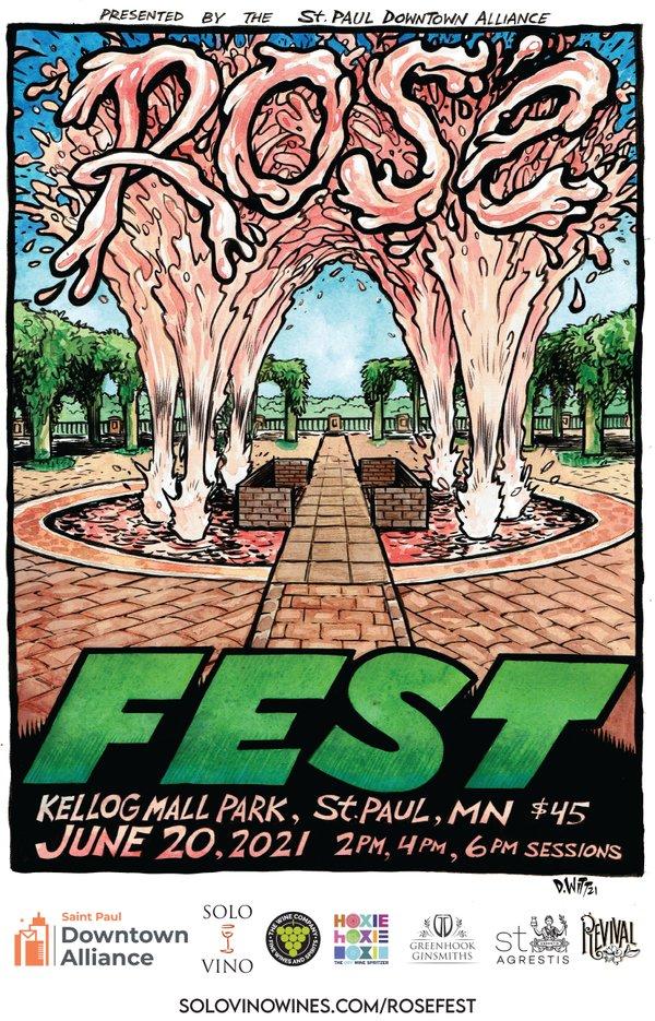 rose fest poster