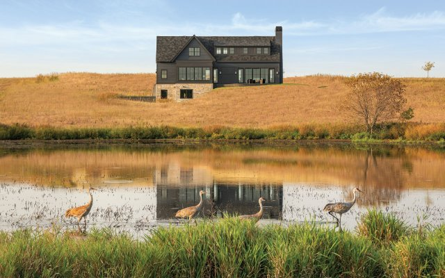 House on a pond