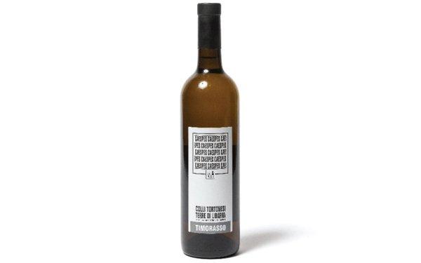 Bottle of Ezio Poggio wine