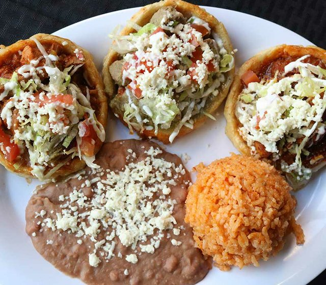 Traditional Homemade Sopes