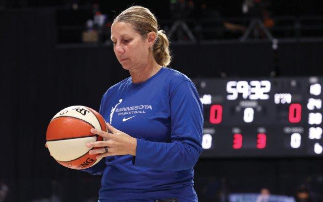 Minnesota Lynx head coach Cheryl Reeve