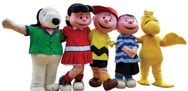 Valley Fair Peanuts Gang