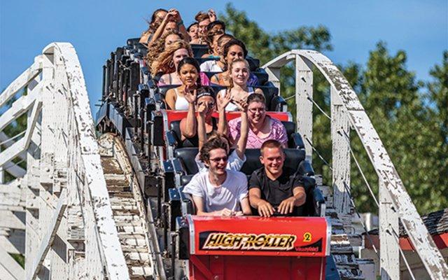 Valley Fair roller coaster