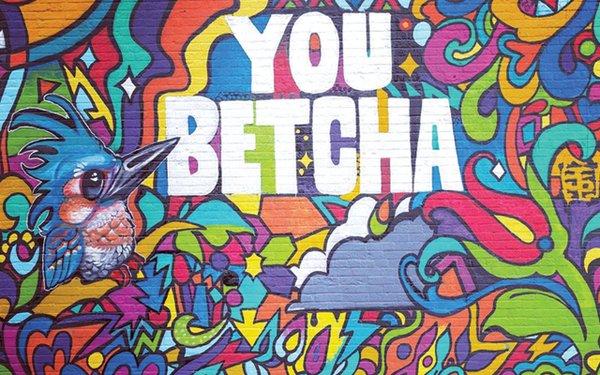 you betcha mural