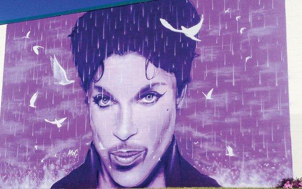 mural of Prince
