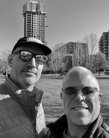 Jeffrey Bores and Michael Hawkins