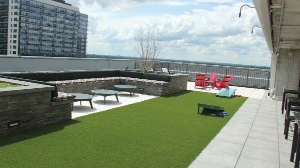 Rooftop at ECMC Group