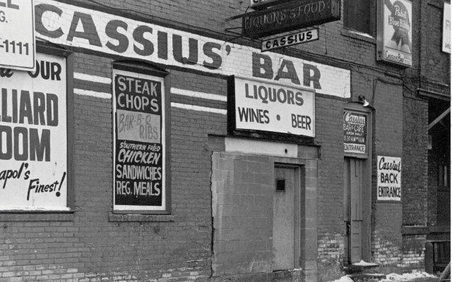 bar entrance