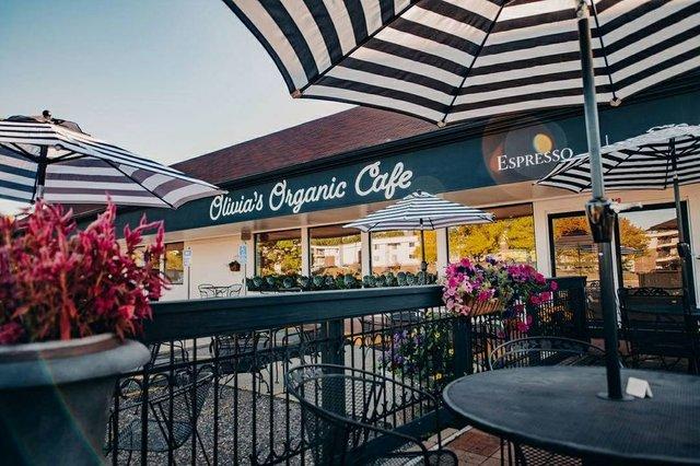 Olivia's Organic Cafe Patio