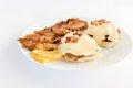Bacon Benedict with Breakfast Potatoes