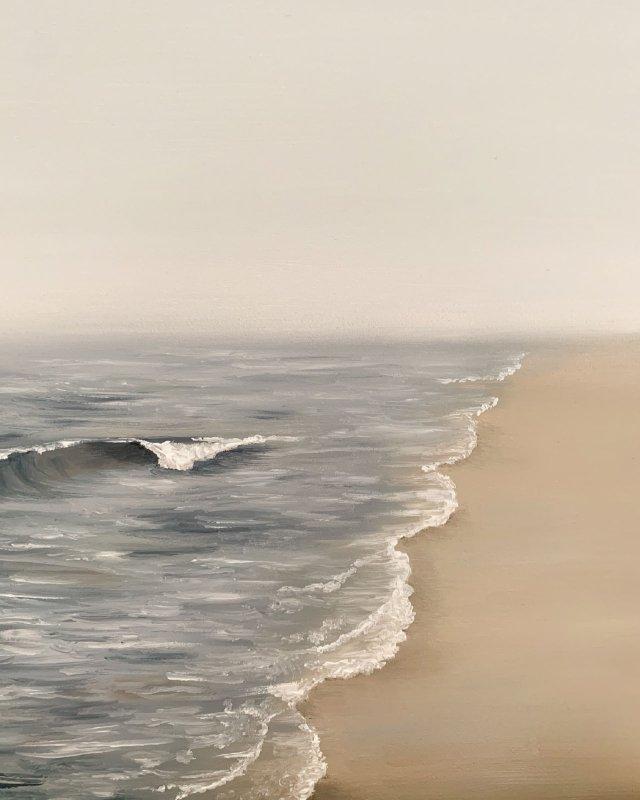 Norfolk, England beach