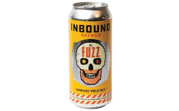 Can of Inbound Fuzz beer