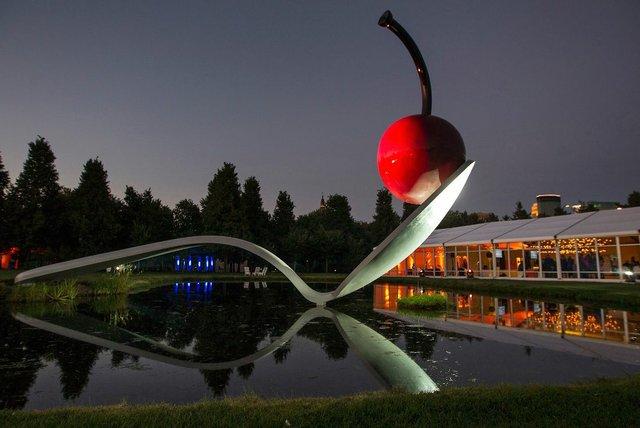 Walker Art Center Spoon and Cherry