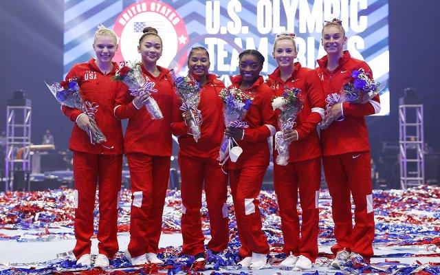 2021 US Olympics Women Gymnastics