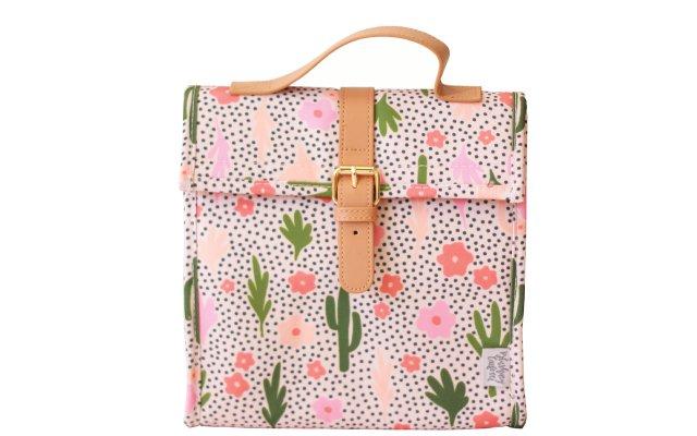 Cactus lunch satchel