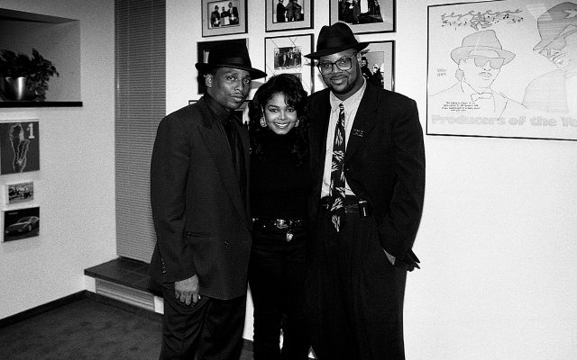 Terry Lewis, Janet Jackson and Jimmy Jam