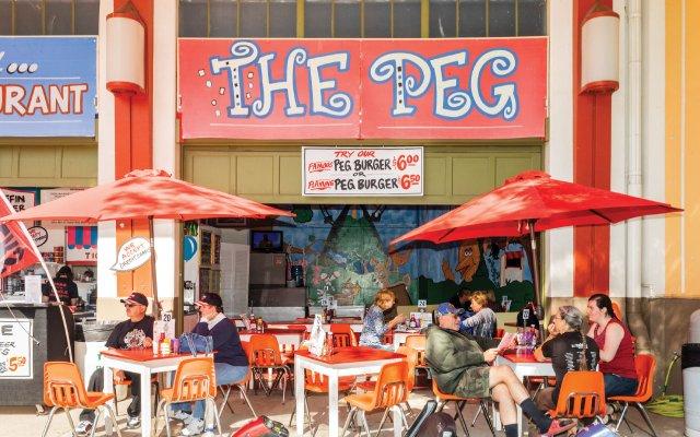 The Peg restaurant