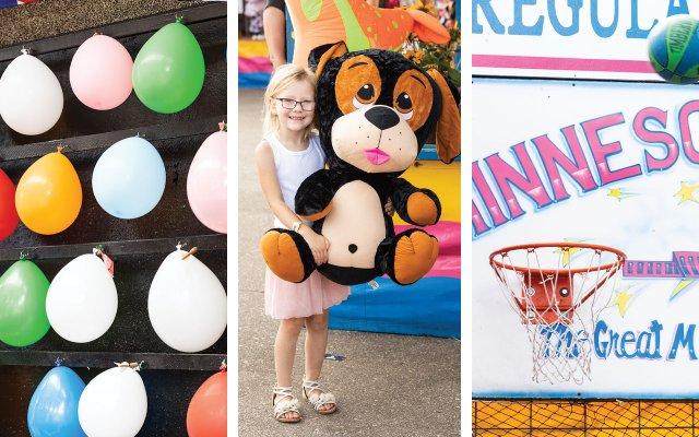 three State Fair games of chance
