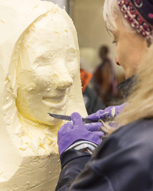 Butter sculpter