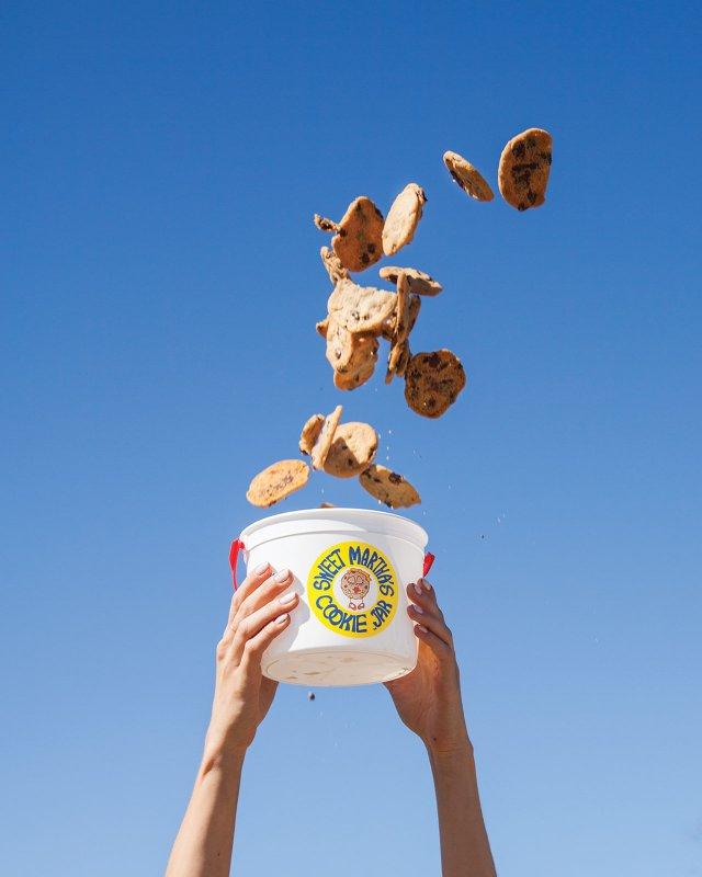 Bucket of cookies