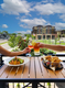Outdoor dining in the heart of Wayzata