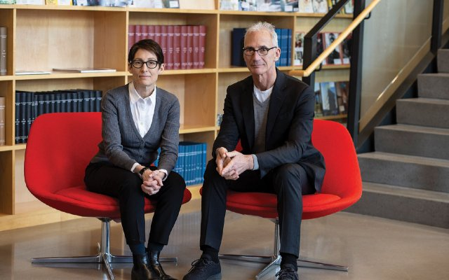 Architects Joan Soranno and John Cook