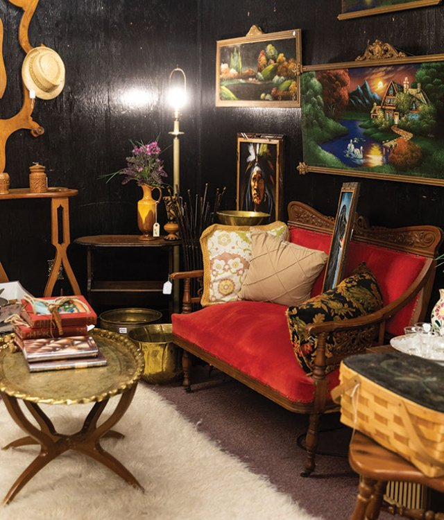 The Looking Glass, famous antique store