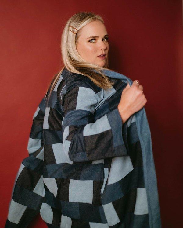 Laura Nicholson Blue Jacket