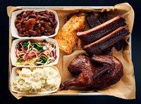 Beast BBQ Three Meat Platter