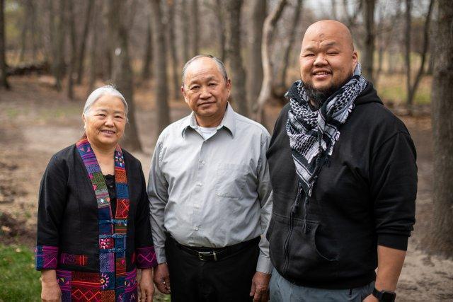Yia Vang and Family