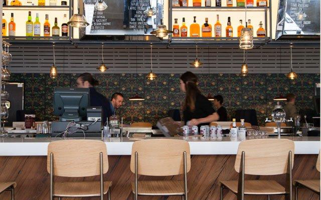 Libertine bar area