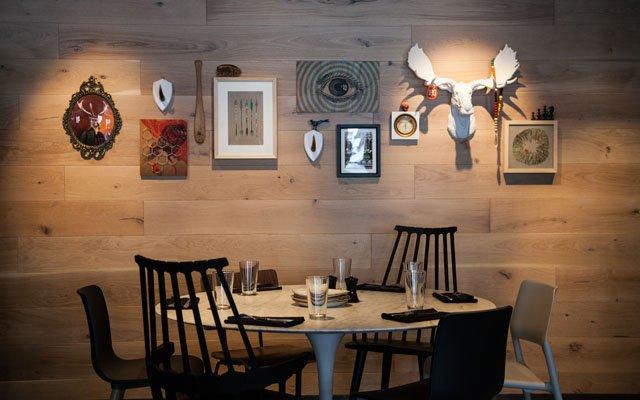 Dining area at Libertine