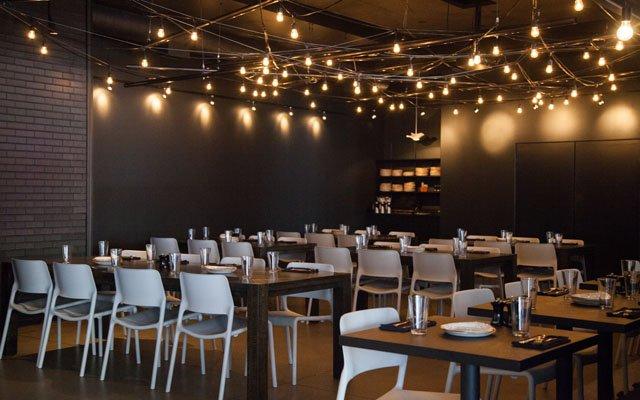 Libertine dining area