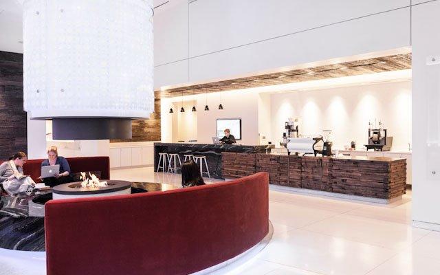 Peace Coffee interior