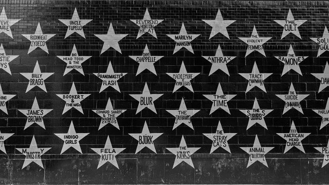 First Avenue's Wall of Stars