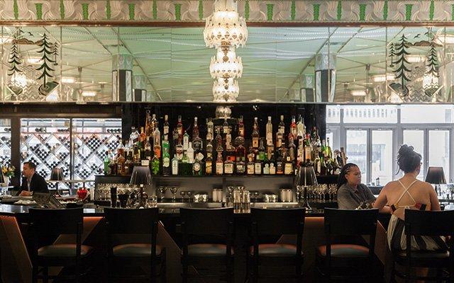 Bar area at Il Foro