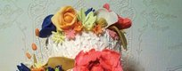 OUTSTANDING CAKE DESIGN: WHITE LACE CAKES