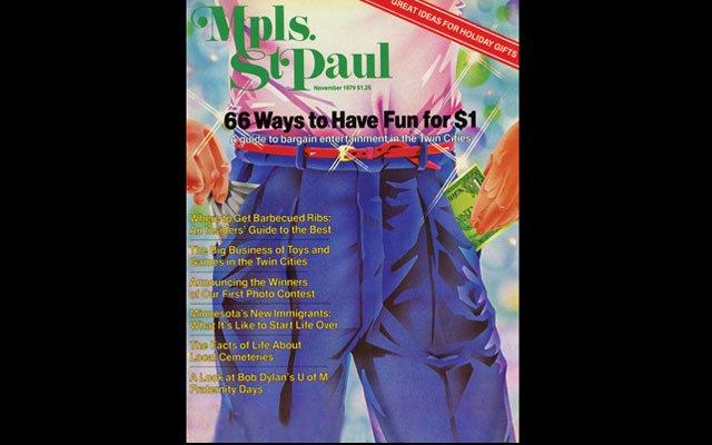 November 1979 Mpls.St.Paul Magazine Cover