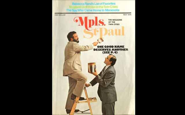 May 1978 Mpls.St.Paul Magazine Cover
