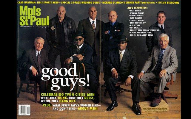 January 2001 Mpls.St.Paul Magazine Cover