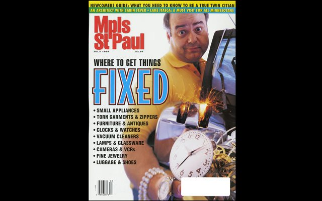 July 1998 Mpls.St.Paul Magazine Cover