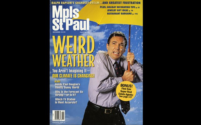 November 2003 Mpls.St.Paul Magazine Cover