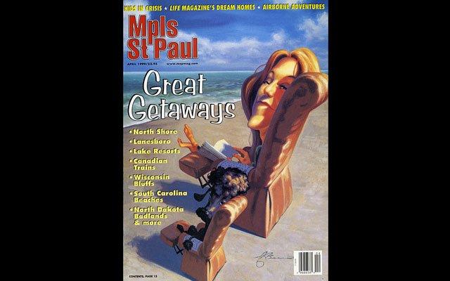 April 1999 Mpls.St.Paul Magazine Cover