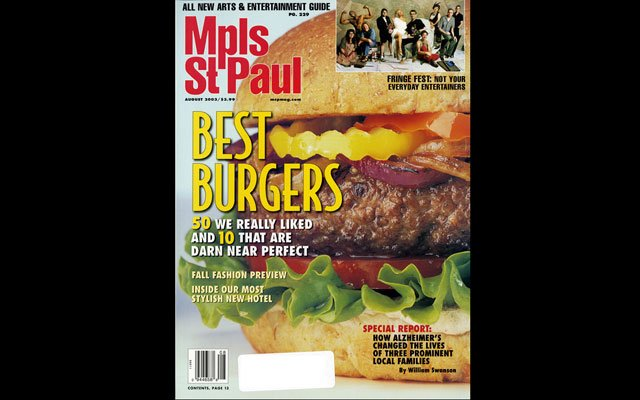 August 2003 Mpls.St.Paul Magazine Cover