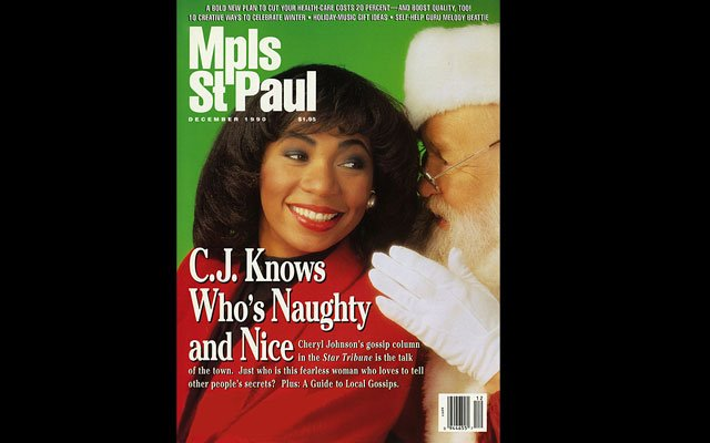 December 1990 Mpls.St.Paul Magazine Cover