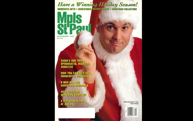 December 1991 Mpls.St.Paul Magazine Cover