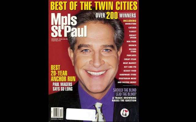 December 2003 Mpls.St.Paul Magazine Cover